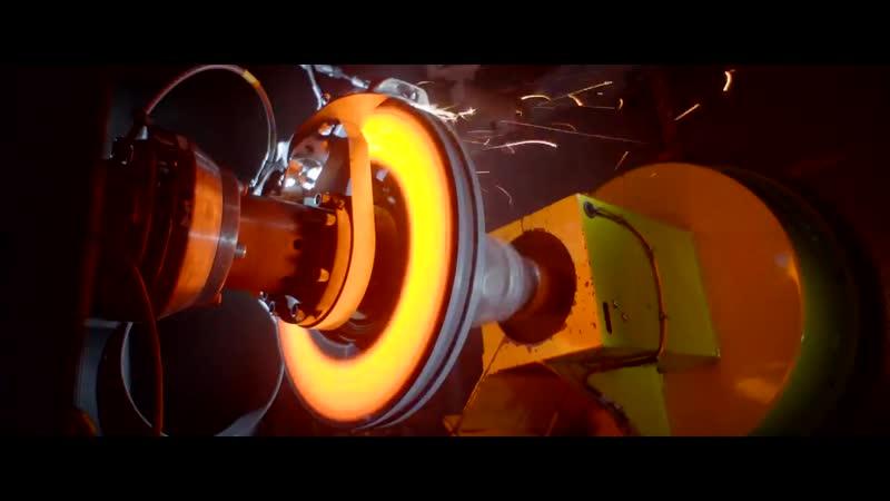 Тест тормозной системы Bugatti Chiron