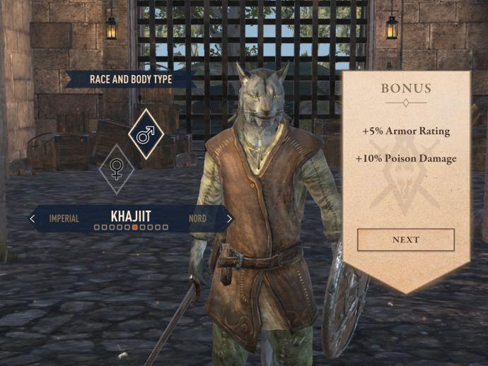 Каджиты в The Elder Scrolls Blades