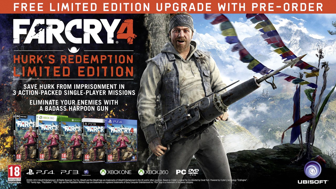 Анонсирован Far Cry 4!