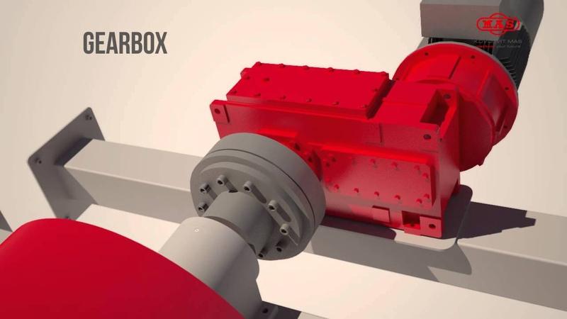 MAS HYDRO Archimedean screw screw turbine