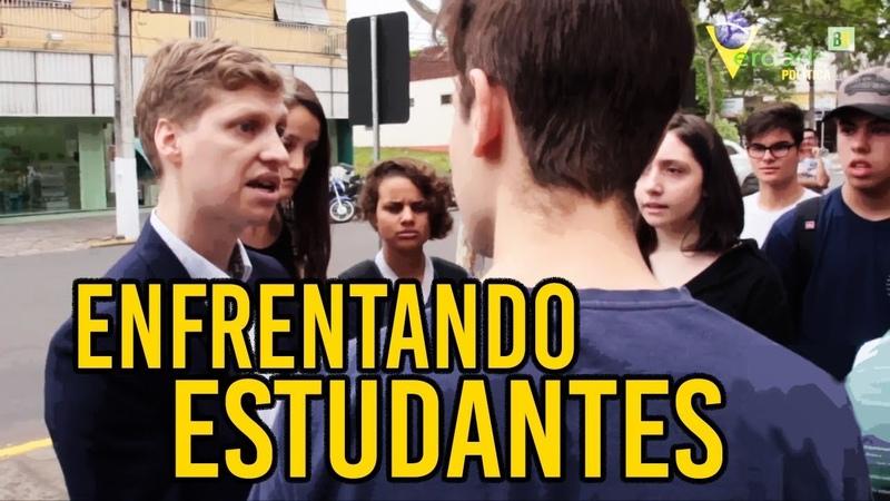 Marcel van Hattem dá lição de moral em ESTUDANTES esquerdistas