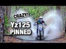 YZ125 PINNED Through The Woods Stand Up Jet Skis