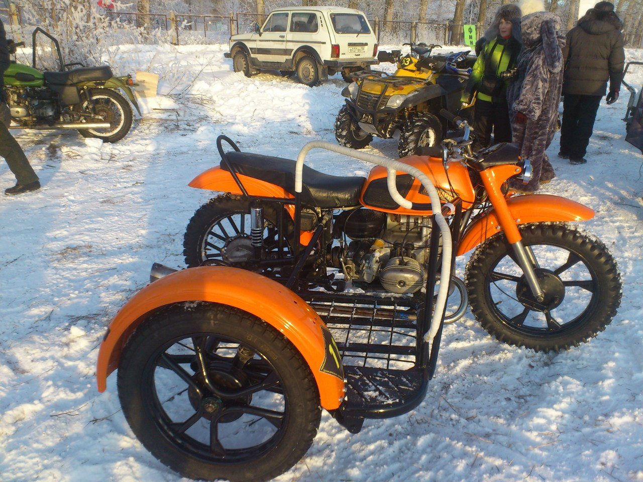 Мотоциклы Урал пермский