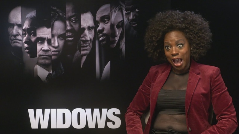 WIDOWS: Viola Davis is great with pee, poop and vomit!