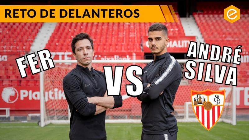 RETO de DELANTEROS con ANDRÉ SILVA · Sevilla FC ·