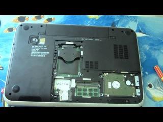 Dell 7720 добавляем памяти до 16GB/Dell 7720 add 16gb RAM memore