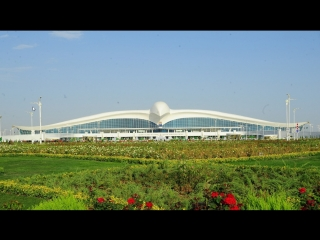 Turkmenistan flycam Ashgabat - Avaza
