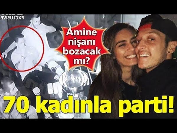 Mesut Özil, 70 Kadınla Uyuşturucu Partisinde Görüntülendi.... Nişanlısı Amine Gülşe ne diyecek