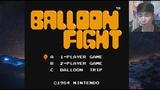 Играем в Balloon Fight - Dendy, NES (Retro 8-bit)