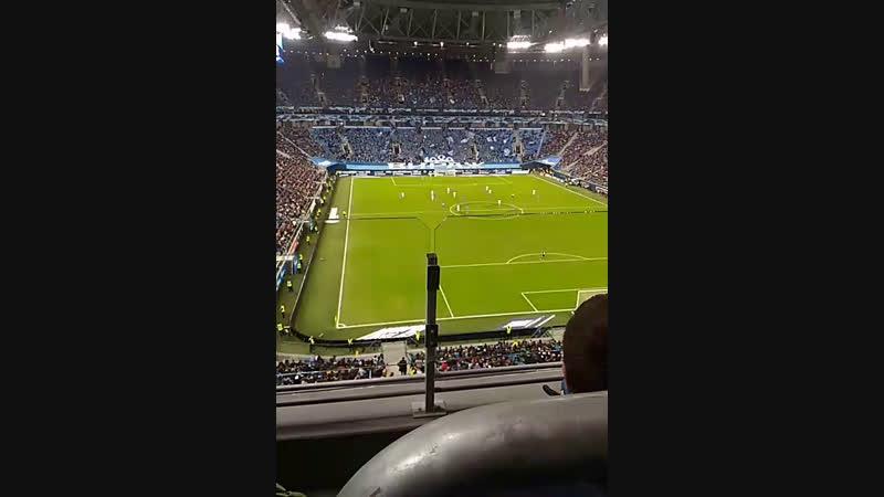 Зенит vs Рубин на Арене 2-ой тайм