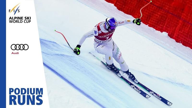 Dominik Paris Men's Downhill Bormio 1st place FIS Alpine
