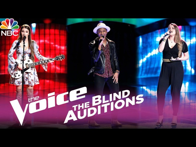 The Voice 2017 - Blind Audition Montage Alexandra Joyce, Eric Lyn, Anna Catherine DeHart