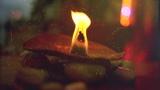 Травяная свеча из лаванды