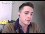 Colton Haynes talking about Darren Criss