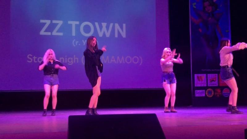 MAMAMOO 마마무 Starry Night 별이 빛나는 밤 dance cover by ZZ TOWN @ ANIMAU EXPO 2018