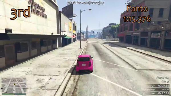 GTA 5 Какие компакты самые быстрые?