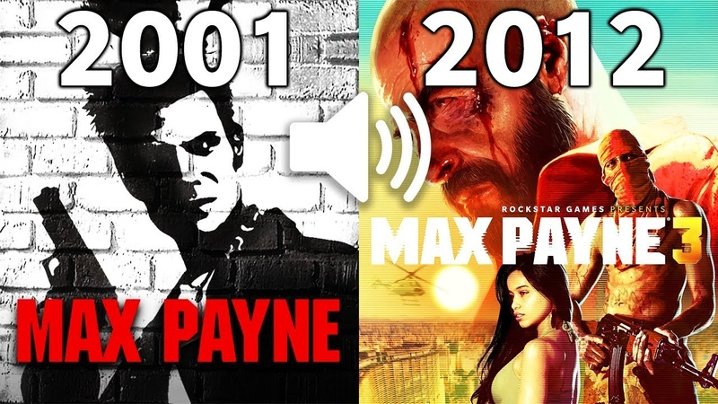 Evolution Of Rockstars MAX PAYNE theme Song 2001 - 2012