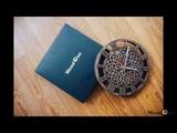 Фрезеровка часов в кельтском стилеMilling a clock in Celtic style