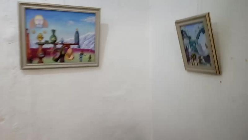Выставка Владимира Эля Крокодилы и клоуны.