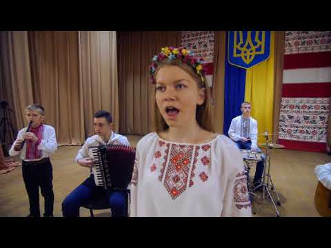 Біля тополі - дитячий ансамбль Дударик