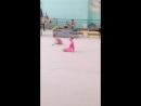 моя маленькая гимнастка