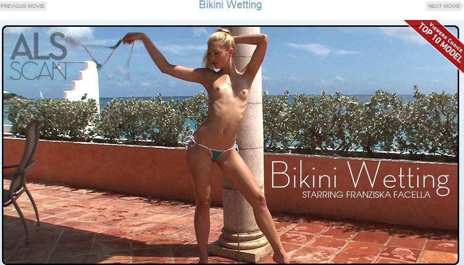 ALSScan - Bikini Wetting