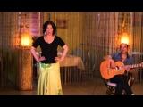 Уроки цыганского танца Венеры Ферарь (gipsy dance lesson)