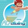 Flydiving: Прыжки в воду и Батутный Центр