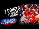 Rajon Rondo Full Highlights WCR1 Game 4 Pelicans vs Portland Blazers - 7 Pts, 16 Asts! FreeDawkins