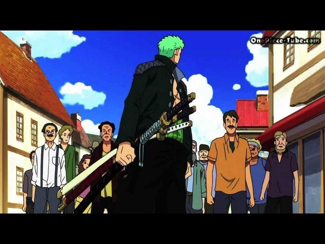 One Piece - Zorro VS Canon HD (Episode of Luffy) GER SUB