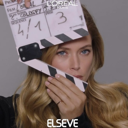 "L'Oréal Paris Hair Official on Instagram: ""Cut? Not the beautiful hair of @doutzen 🤚🏻 Behind the scene of our Extraordinary Oil campaign elseve l..."