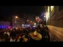 Ростов после матча Мексика - Южная Корея, Пушкинская 3 часа ночи.