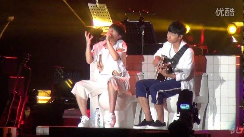 ★Mars 2015 FULL fancam★ Shanghai 02-08-2015 Hua Chenyu 华晨宇2015火星演唱會
