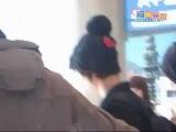 FANCAM 101114 Super Junior Yesung, Siwon, Sungmin, Kyuhyun @ Incheon Airport