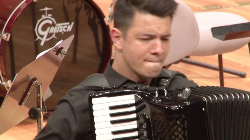 PhilHARMONIKA 2016 - Nicolae Gutu auf dem Akkordeon-Konzert-Festival in der Berliner Philharmonie