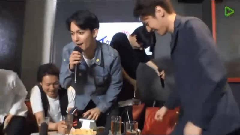 この曲歌って イケメンパーティ - LINE LIVE(ラインライブ) BIGBANG - Fantastic Baby 竹内寿 x 平方元基 x 永濑匡 x 前田公辉 x 杉尾真