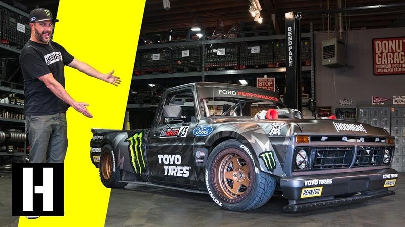 Ken Blocks Hoonitruck Twin Turbo, AWD, 914hp, and Ready to Party in Gymkhana TEN