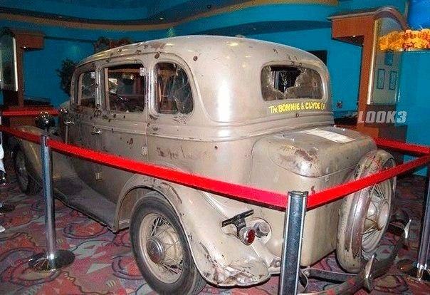 Любимый автомобиль Бонни и Клайда