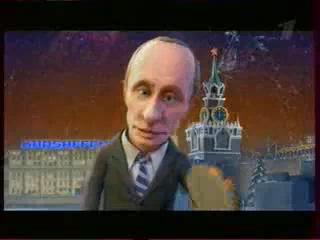 Путин и Медведев - [ Мульт личности в Оливье Шоу 2010 ]