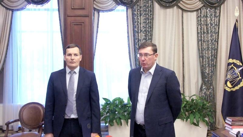 Коментар Генпрокурора Ю.Луценка та заступника Генпрокурора Є.Єніна щодо екстрадиції Т.Тумгоєва