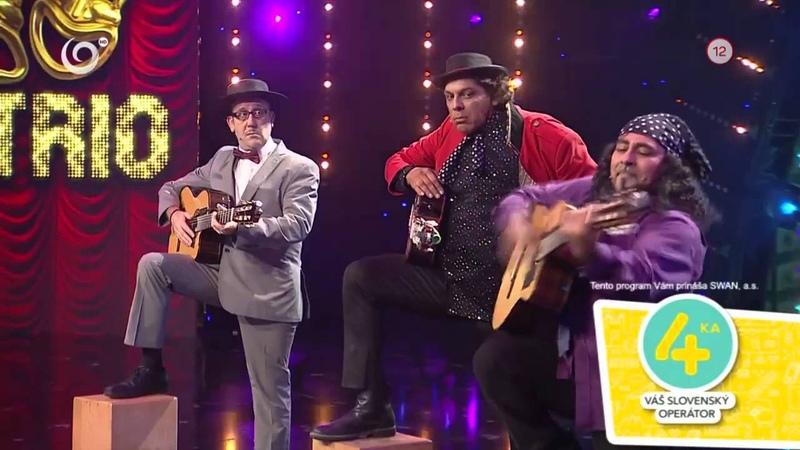 ČESKO SLOVENSKO MÁ TALENT 2015 - SEMIFINÁLE - Olé Trio