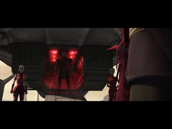 Star Wars Clone Wars Savage is Sent to Count Dooku to be His New Apprentice