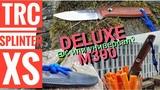 Обзор ножа TRC - SPLINTER XS Deluxe. EDC или нож в лес №2 Канал Forester 2018