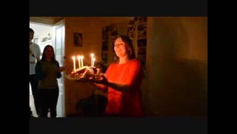 Пять свечей для юбиляра)