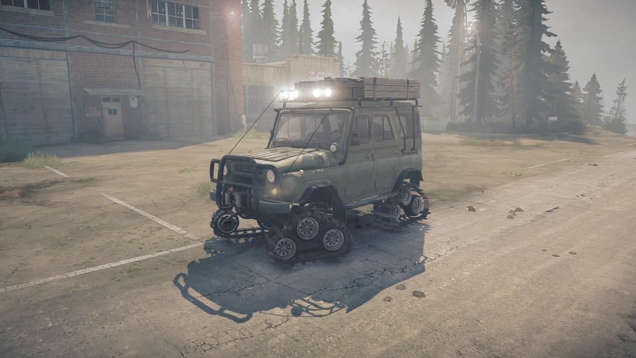 УАЗ 3151 Гусеничный