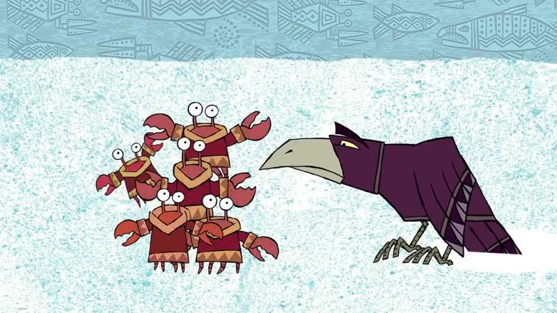 Гора самоцветов Ворон обманщик Ительменская сказка