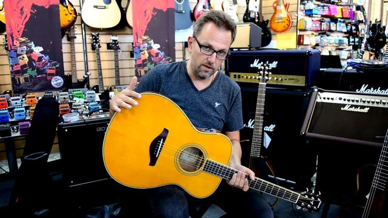 Быстрый тест гитары Yamaha TransAcoustic