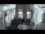 ДНР. Донецк. Павел Губарев сдаёт кровь для раненых. 04.09.2014