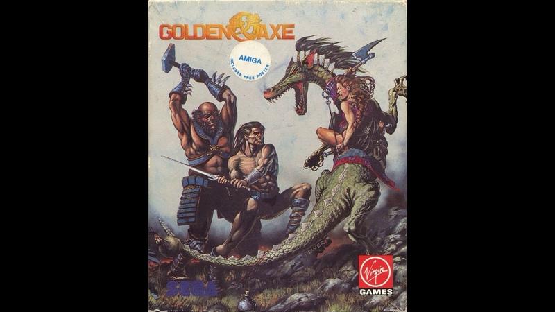 Old School Amiga Golden Axe FULL OST SOUNDTRACK