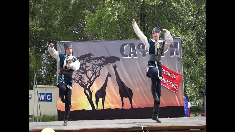 23.06.2018г. Уральские Батыры, Сабантуй в Саду Победы